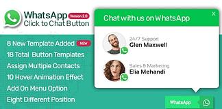 WP WhatsApp Button – Premium WordPress WhatsApp Button Plugin