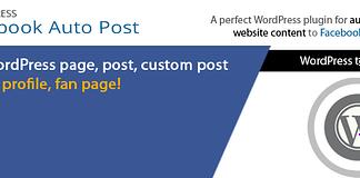 AccessPress Facebook Auto Post - Free WordPress Facebook Auto Post Plugin