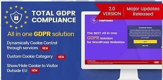 Best WordPress GDPR Compliance Plugin: Total GDPR Compliance