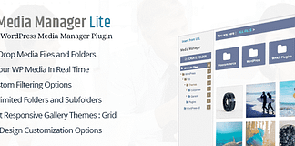Best WordPress Media Manager Plugin: WP Media Manager Lite