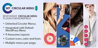 WP Circular Menu - Responsive WordPress Circular Menu Plugin