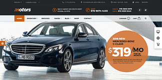 Motors - Premium WordPress Automotive Theme
