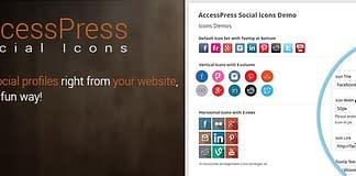 AccessPress Social Icons: Free WordPress Social Icons Plugin