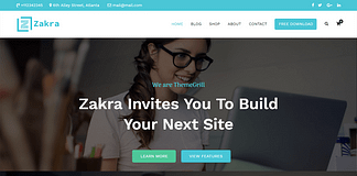 Zakra - Free Multipurpose WordPress Theme