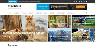 Numinous - Free WordPress Magazine Theme