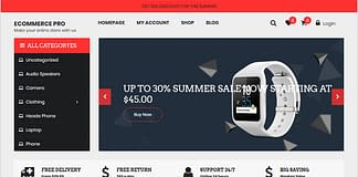eCommerce-Free-WordPress-Theme