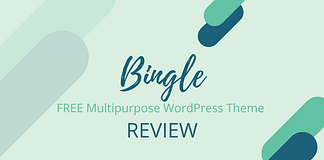 Bingle - Free Multipurpose WordPress Theme Review