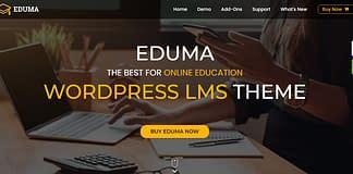 Best Education WordPress Theme - Eduma
