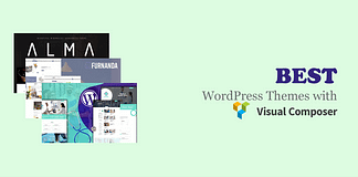 WordPress themes with Visual Composer