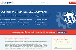 WPGeeks-Customization-Theme