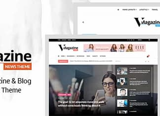 Vmagazine - Wordpress Magazine Theme