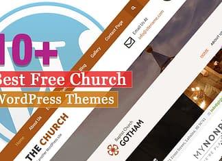 Best Free Church WordPress Themes
