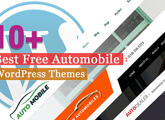 Best Free Automobile WordPress Themes