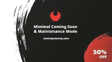 Coming Soon & Maintenance mode - Black Friday Deals 2020