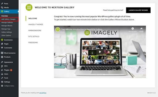 NextGEN Gallery Add Gallery