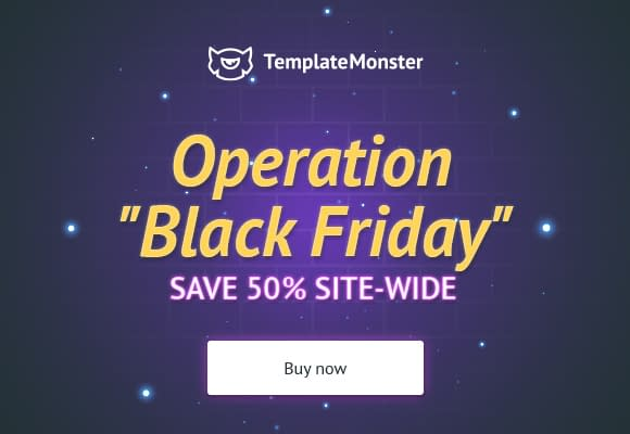 TemplateMonster - Black Friday and Cyber Monday WordPress Deal 2018