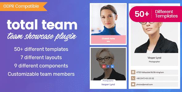 Total Team - Responsive WordPress Team Showcase Plugin