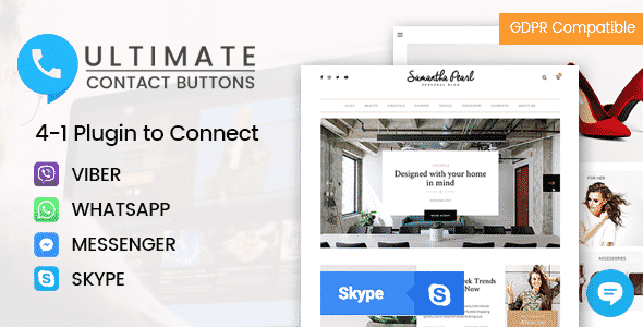 Premium WordPress Contact Button Plugin - Ultimate Contact Buttons