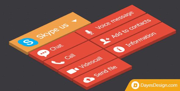 Best WordPress Skype Contact Button Plugins - Skype Button