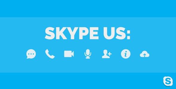 Best WordPress Skype Contact Button Plugins - Skype Us