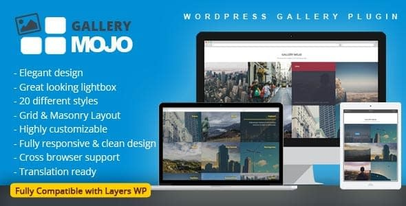 Best WordPress Gallery Plugin: Gallery Mojo