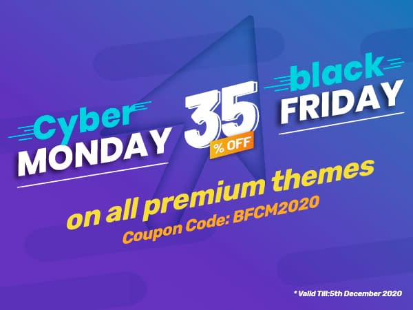 AccessPress Themes - Black Friday & Cyber Monday Deal