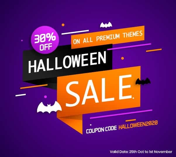8Degree Themes - Halloween Offer