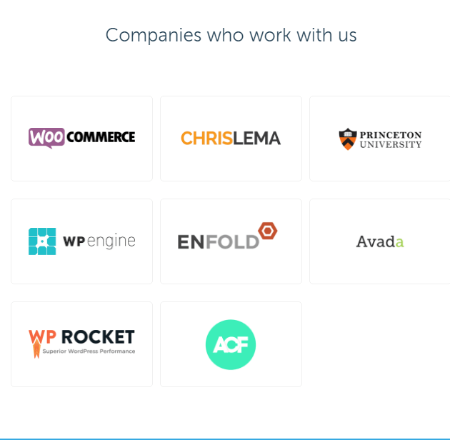 Codeable Customization Service Portfolio companies