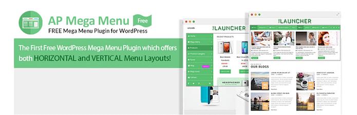 AP Mega Menu - Free WordPress Mega Menu Plugin