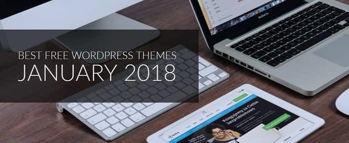 Best Free WordPress Theme January 2018