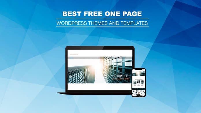 Free One Page WordPress Themes