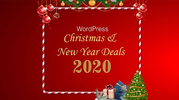 WordPress Christmas and New Year Deals 2020