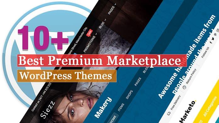 Best Premium Marketplace WordPress Themes