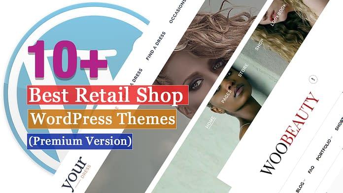 Best Premium Retail Shop WordPress Themes