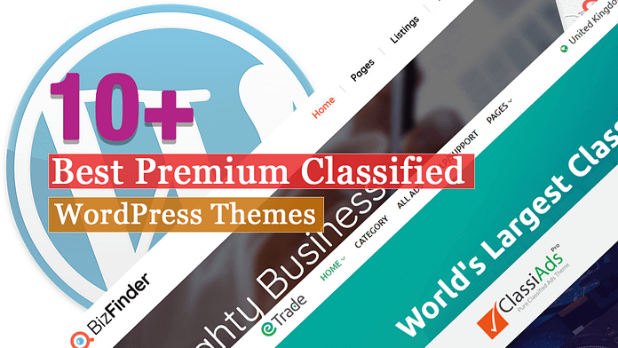 Best Premium Classified WordPress Themes