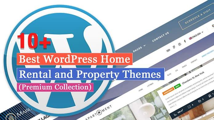 Best Premium Home Rental and Property WordPress Themes
