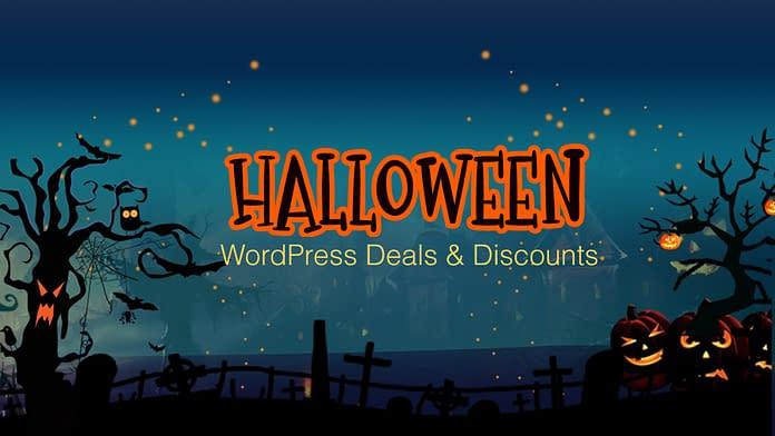 WordPress Halloween Deals and Discounts 2019