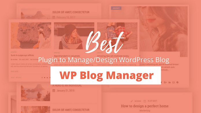 WP Blog Manager - WordPress Plugin Review