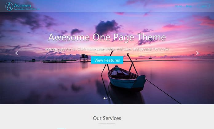 ascreen-free-one-page-WordPress-Theme