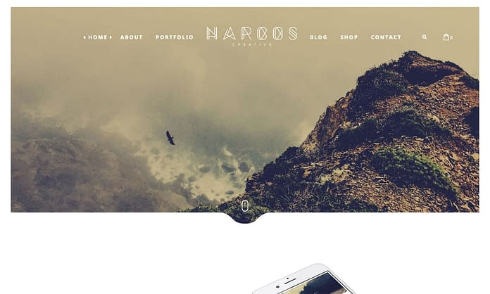 Narcos - Premium Multipurpose WordPress Theme
