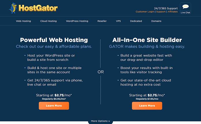 HostGator - Fastest WordPress Hosting