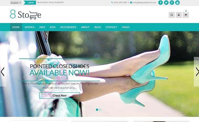 EightStore Lite - Best Free WordPress eCommerce WooCommerce Themes