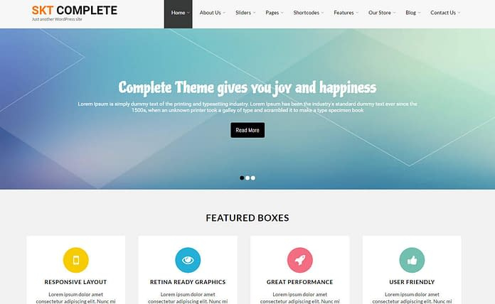 skt-complete-Premium-WordPress-theme