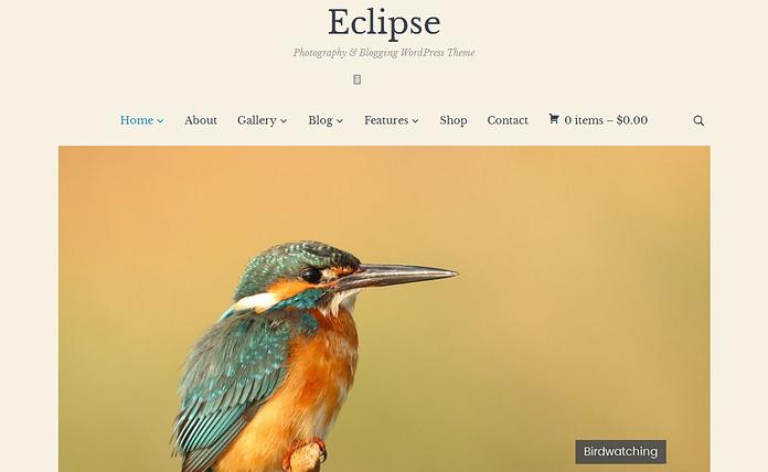 Eclipse-Premium-Photography WordPress Theme
