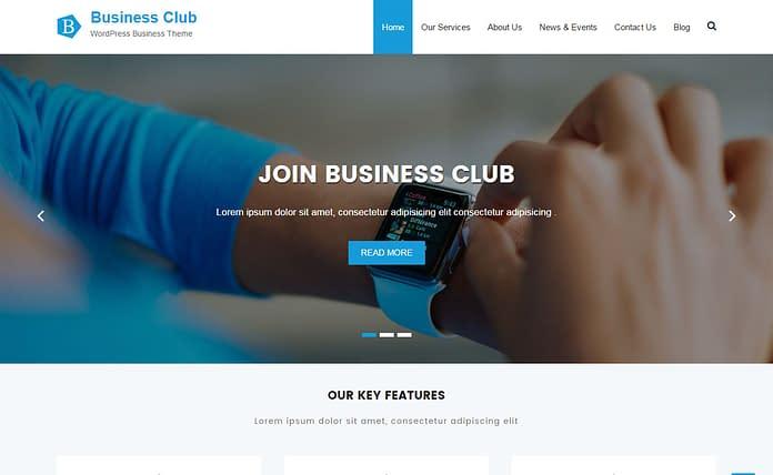 Business Club - Free Multipurpose WordPress Theme