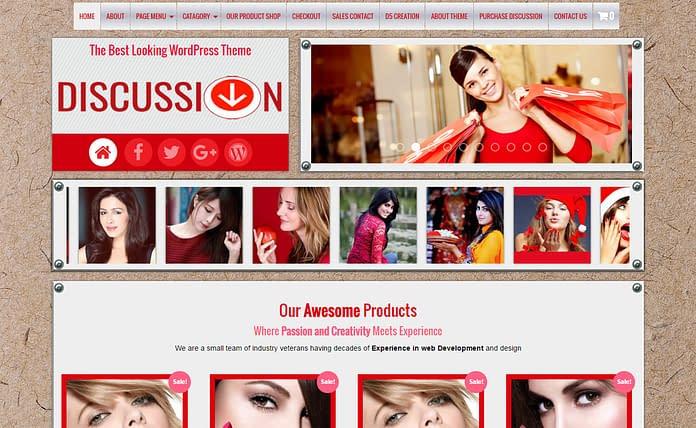 Discussion - Premium WordPress Blog Theme