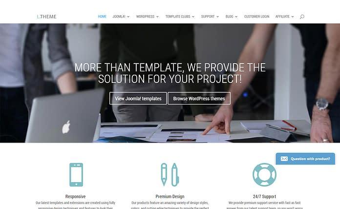 LTheme - Leading WordPress Theme Store