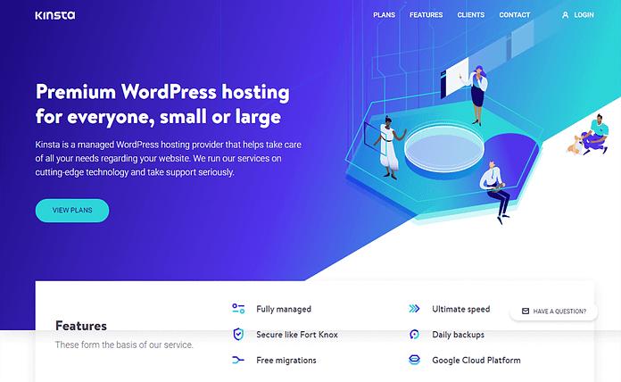 Kinsta Managed WordPress Hosting Service