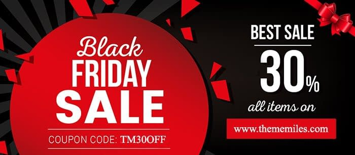 ThemeMiles - Black Friday Cyber Monday Deals