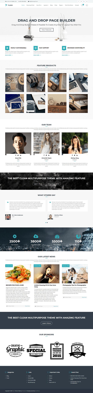 15+ Best Free Multipurpose WordPress Themes and Templates